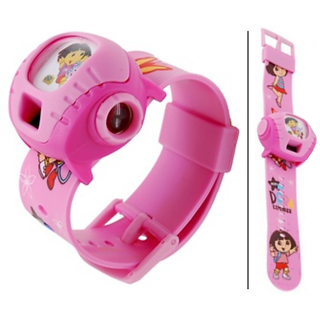 Projector Watch for Kids (Pink)