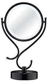 Conair Matte Black Vine Design Fluorescent Mirror