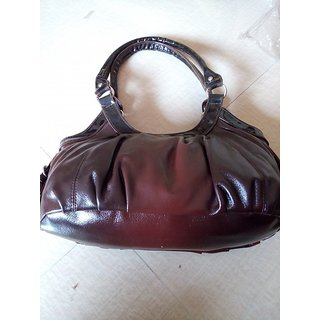 Maroon Womens Hand Bag