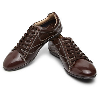 Knotty Derby Down-To-Earth Patent Toe Sneakers