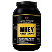 British Nutritions Whey Platinum Standard - 500 G  French Vanila