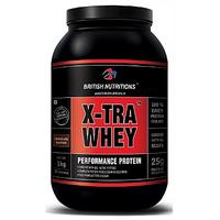 British Nutritions X-Tra Whey - 1 Kg Chocolate
