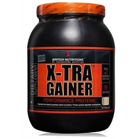 British Nutritions X-Tra Gainer - 500 G  Vanila