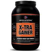 British Nutritions X-Tra Gainer - 1 Kg Chocolate