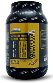 Magnus Nutrition Gain Fast 1000 G (2.2 Lbs)- Berry Blas