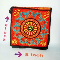 Embroidered Bag With Multi Color