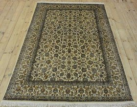 India Furnish Velvet Brown  Carpet