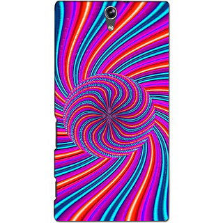 Instyler Premium Digital Printed 3D Back Cover For Sony C5 3DSONYC5DS-10139