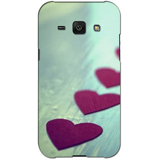Instyler Premium Digital Printed 3D Back Cover For Samsung Glaxy J1 3DSGJ1DS-10281