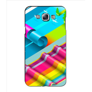 Instyler Premium Digital Printed 3D Back Cover For Samsung Glaxy A8 3DSGA8DS-10169