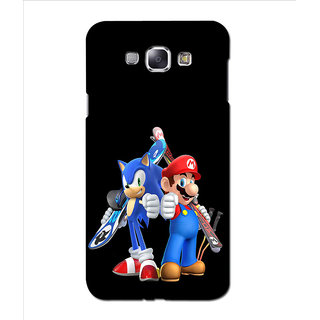 Instyler Premium Digital Printed 3D Back Cover For Samsung Glaxy A8 3DSGA8DS-10194