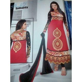 designer Georgette dress