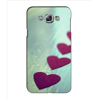 Instyler Premium Digital Printed 3D Back Cover For Samsung Glaxy A8 3DSGA8DS-10281