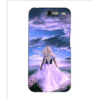 Instyler Premium Digital Printed 3D Back Cover For Infocus M812 3DINFOCUSM812DS-10187