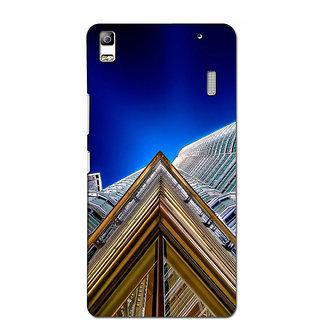 Instyler Premium Digital Printed 3D Back Cover For Lenovo A7000 3DLEN7000DS-10230