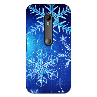 Instyler Premium Digital Printed 3D Back Cover For Moto G3 3DMOTOG3DS-10140