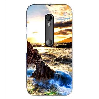 Instyler Premium Digital Printed 3D Back Cover For Moto G3 3DMOTOG3DS-10188