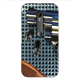 Instyler Premium Digital Printed 3D Back Cover For Moto G3 3DMOTOG3DS-10196
