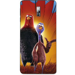 Instyler Premium Digital Printed 3D Back Cover For One Plus 2 3D1PLUS2DS-10151