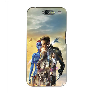 Instyler Premium Digital Printed 3D Back Cover For Infocus M812 3DINFOCUSM812DS-10081