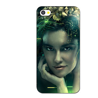 Instyler Premium Digital Printed 3D Back Cover For Apple I Phone 5 3DIP5DS-10163