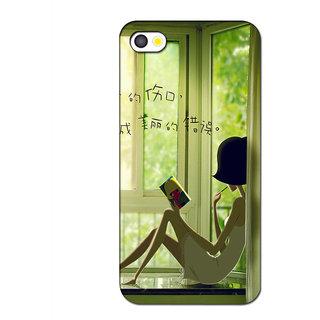 Instyler Premium Digital Printed 3D Back Cover For Apple I Phone 5S 3DIP5SDS-10165