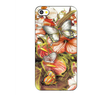 Instyler Premium Digital Printed 3D Back Cover For Apple I Phone 5S 3DIP5SDS-10173