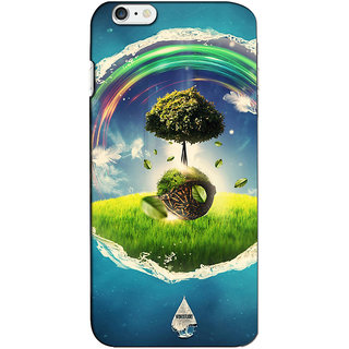 Instyler Premium Digital Printed 3D Back Cover For Apple I Phone 6 Plus 3DIP6PDS-10162