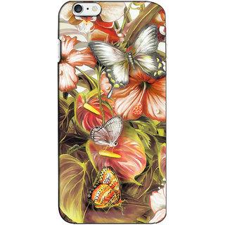 Instyler Premium Digital Printed 3D Back Cover For Apple I Phone 6 3DIP6DS-10173