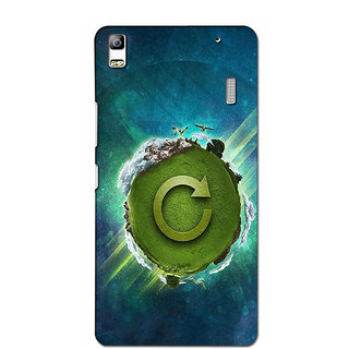 Instyler Premium Digital Printed 3D Back Cover For Lenovo K3 Note 3DLENK3NDS-10106