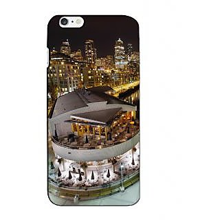 Instyler Premium Digital Printed 3D Back Cover For Apple I Phone 6 Plus 3DIP6PDS-10228