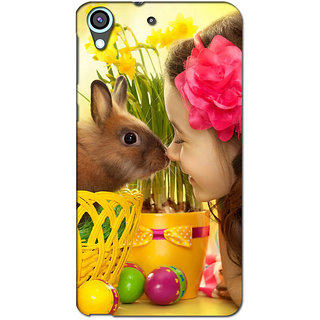 Instyler Premium Digital Printed 3D Back Cover For Htc 626 3DHTC626DS-10168