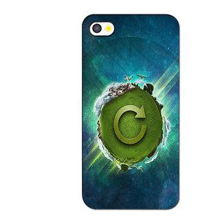 Instyler Premium Digital Printed 3D Back Cover For Apple I Phone 5 3DIP5DS-10106