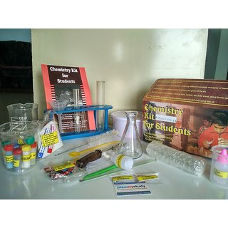 Chemistry Kit for Students for Class 5 to 12, Do It Yourself (DIY) Science Kit