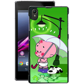 Instyler Digital Printed Back Cover For Sony Xperia Z1 SONYZ1DS-10183