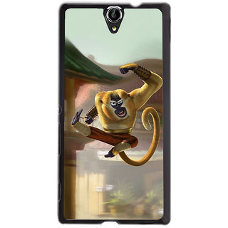 Instyler Digital Printed Back Cover For Sony Xperia -C5 Dual SONYC5DDS-10152