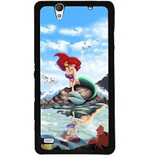 Instyler Digital Printed Back Cover For Sony C4 SONYC4DS-10144