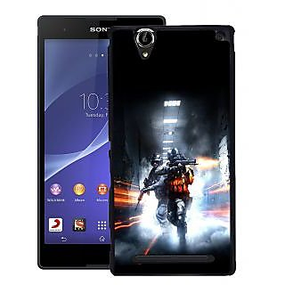 Instyler Digital Printed Back Cover For Sony Xperia T2 SONYT2DS-10287