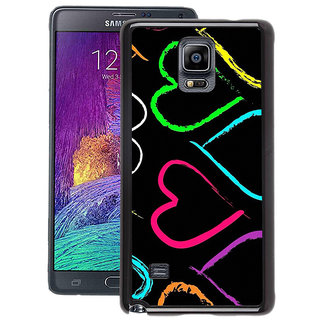 Instyler Digital Printed Back Cover For Samsung Galaxy Note 4 SGN4DS-10268
