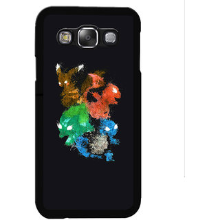 Instyler Digital Printed Back Cover For Samsung Galaxy E7 SGE7DS-10236