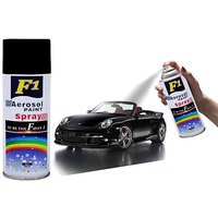 F1 Aerosol Spray Paint Black-Shining For Multipurpose(Car,Bike,Cycle,etc.)