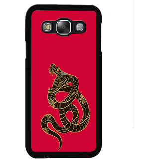 Instyler Digital Printed Back Cover For Samsung Galaxy E5 SGE5DS-10165