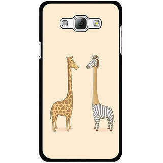 Instyler Digital Printed Back Cover For Samsung Galaxy A8 SGA8DS-10186