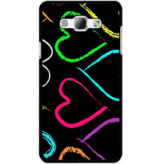 Instyler Digital Printed Back Cover For Samsung Galaxy A8 SGA8DS-10268