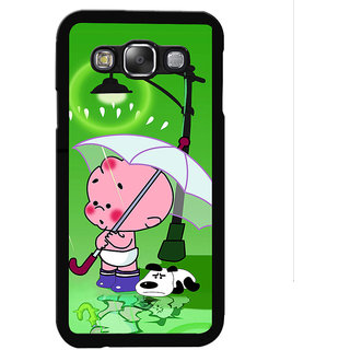 Instyler Digital Printed Back Cover For Samsung Galaxy E7 SGE7DS-10183