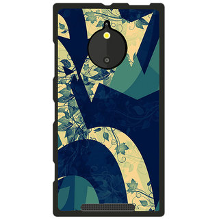 Instyler Digital Printed Back Cover For Nokia Lumia 830 NKLM830DS-10209