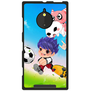 Instyler Digital Printed Back Cover For Nokia Lumia 830 NKLM830DS-10229