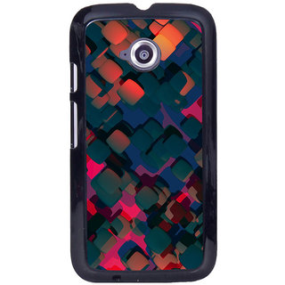 Instyler Digital Printed Back Cover For Moto E MOTOEDS-10170