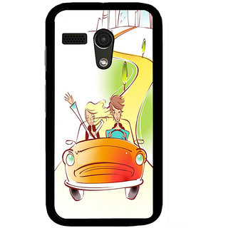 Instyler Digital Printed Back Cover For Moto G MOTOGDS-10202