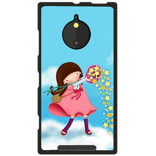 Instyler Digital Printed Back Cover For Nokia Lumia 830 NKLM830DS-10237